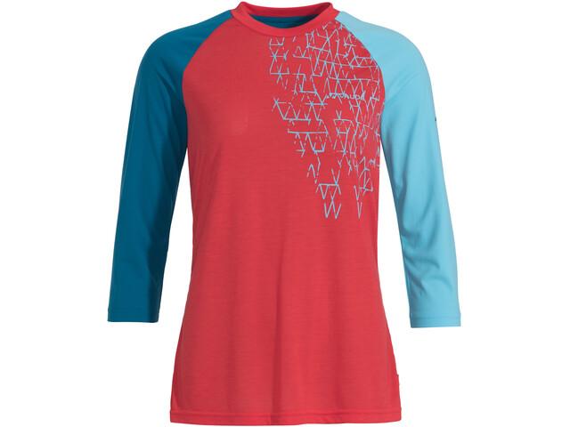 VAUDE Moab III LS Shirt Damen magma